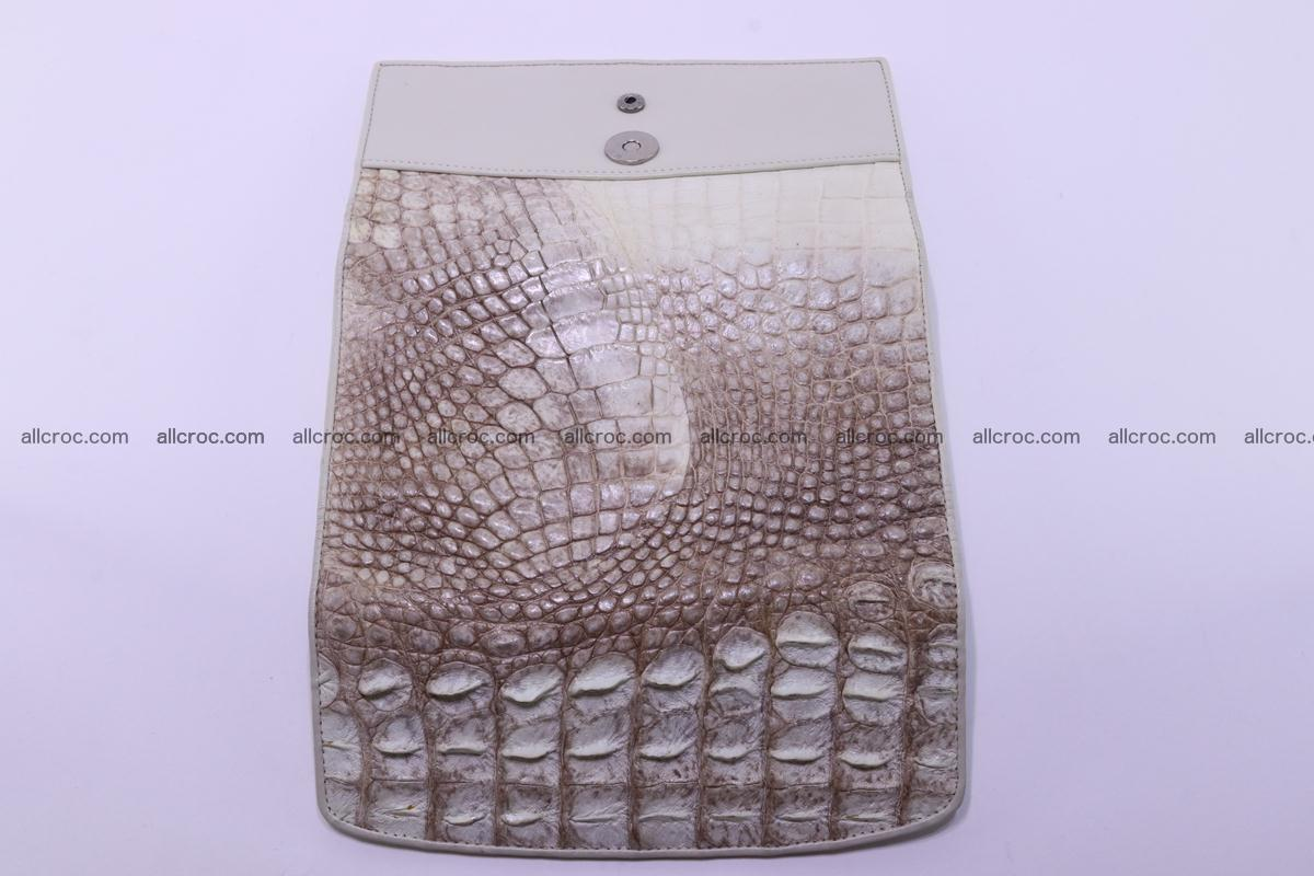 Crocodile wallet for women trifold 280 Foto 8