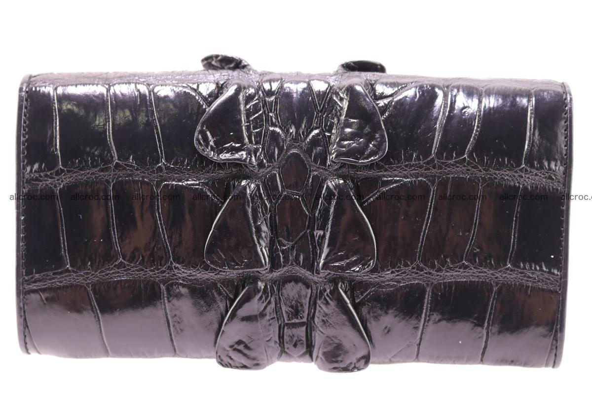 Crocodile wallet for women trifold 281 Foto 1