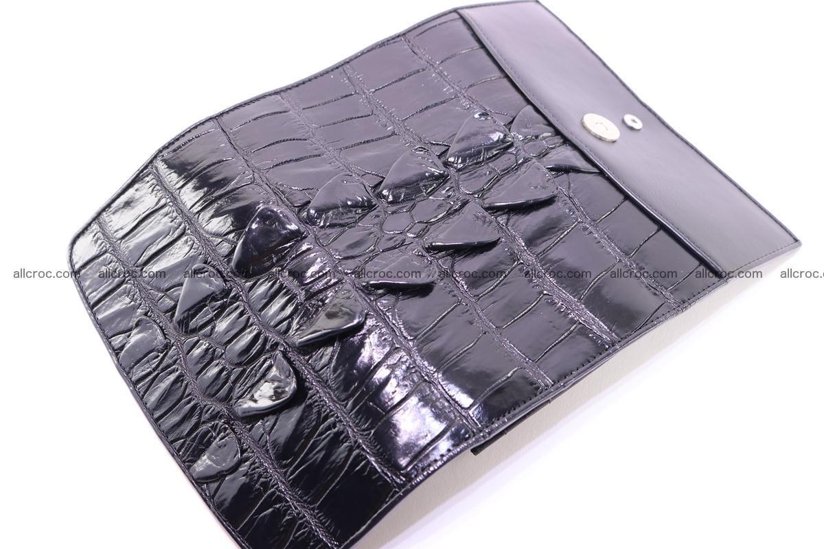 Crocodile wallet for women trifold 281 Foto 11