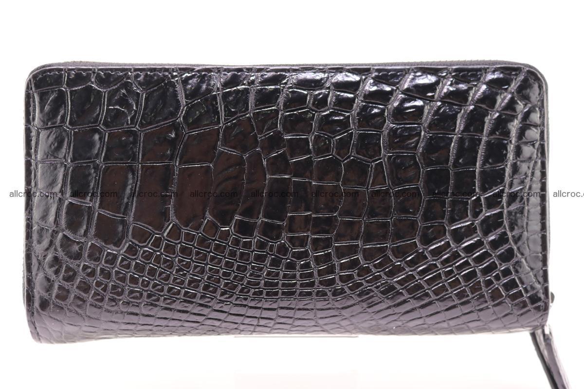 Crocodile wallet with 2 zips 313 Foto 0