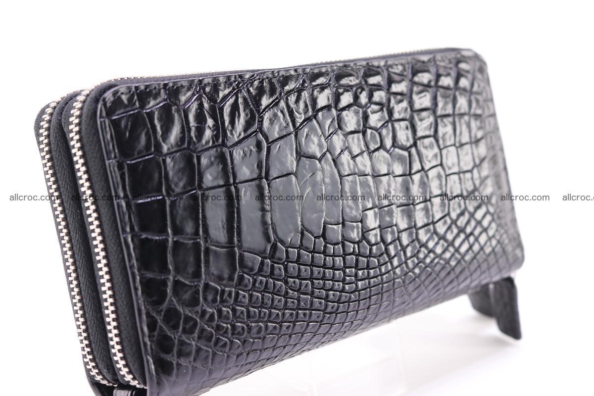 Crocodile wallet with 2 zips 313 Foto 1
