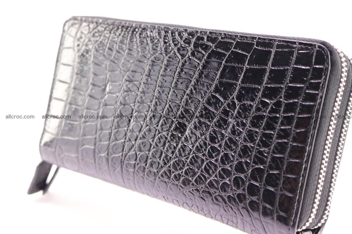 Crocodile wallet with 2 zips 313 Foto 9