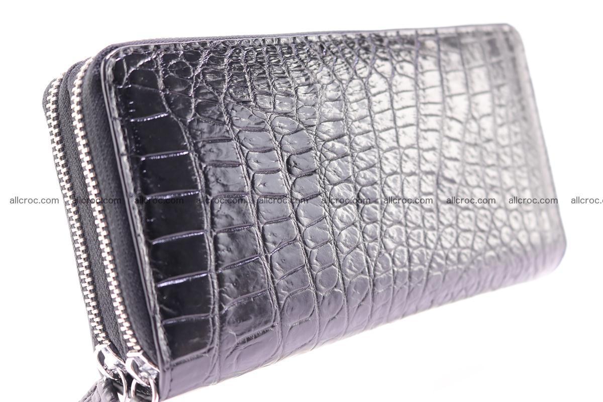 Crocodile wallet with 2 zips 313 Foto 10