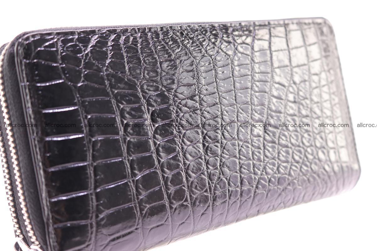 Crocodile wallet with 2 zips 313 Foto 11