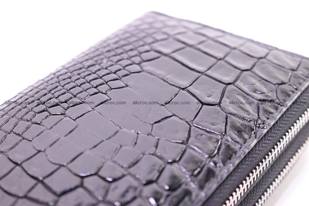 Crocodile wallet with 2 zips 313 Foto 2
