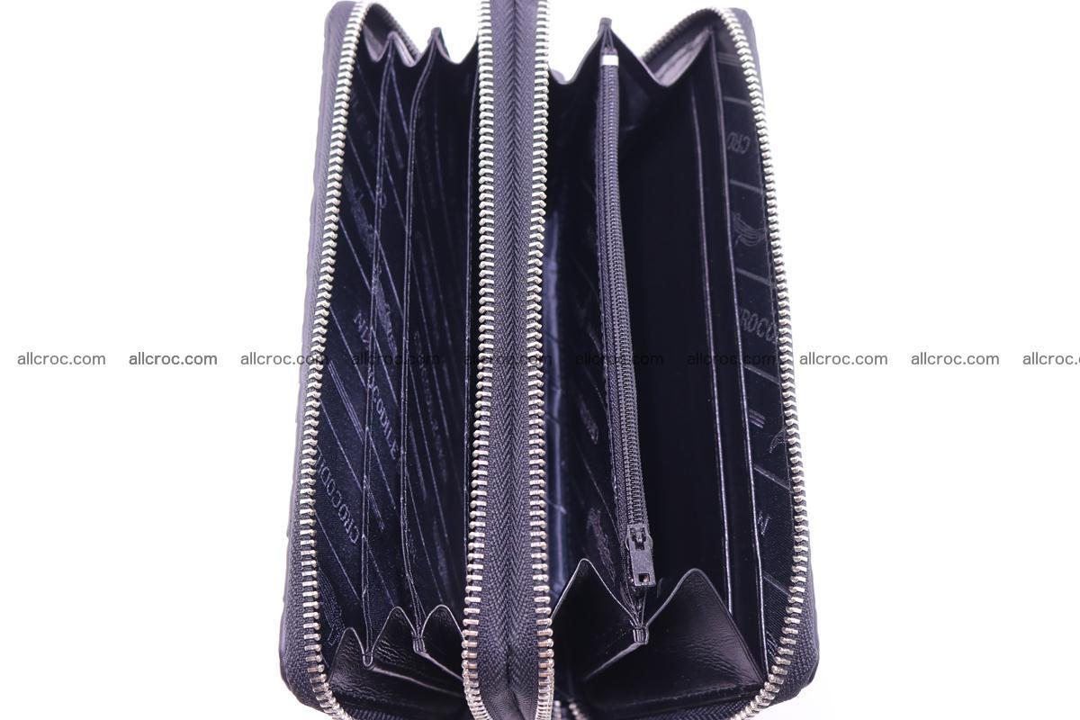 Crocodile wallet with 2 zips 316 Foto 9