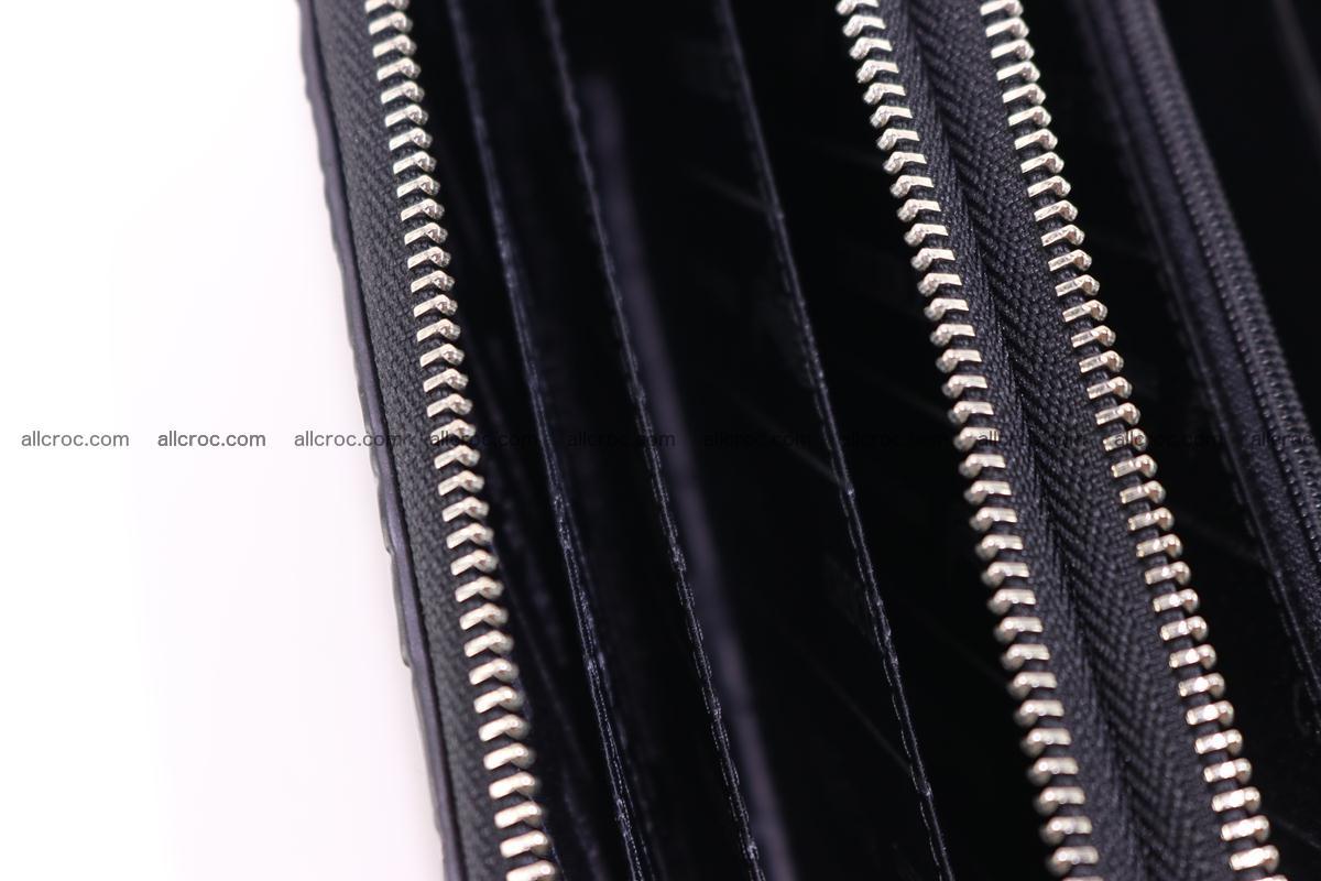 Crocodile wallet with 2 zips 313 Foto 14