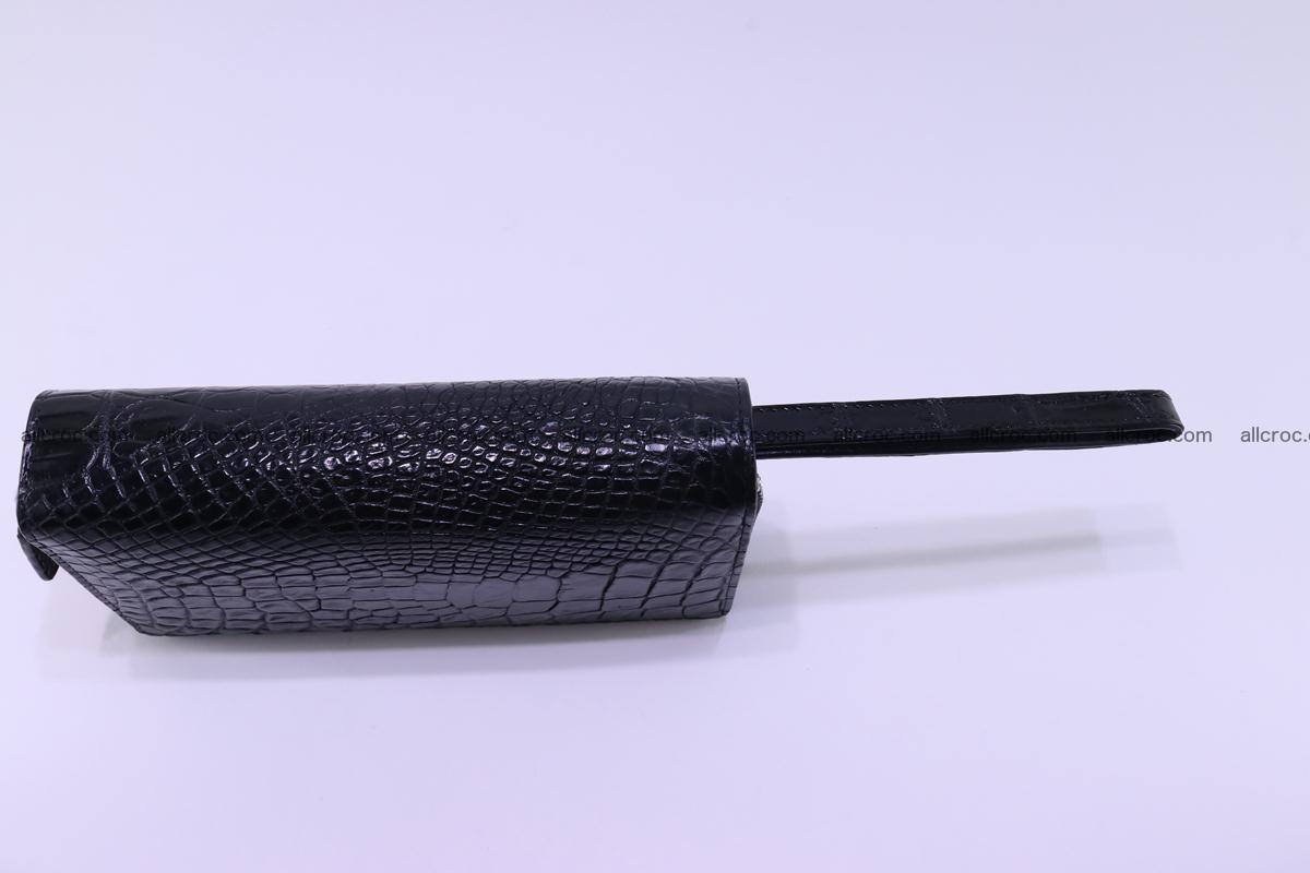 Crocodile wallet with 2 zips 304 Foto 13