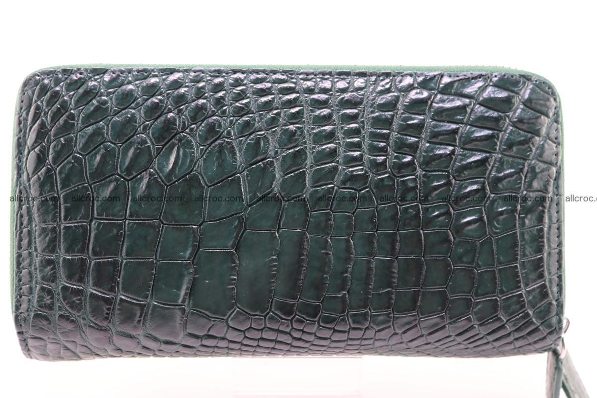 Crocodile wallet with 2 zips 315 Foto 0