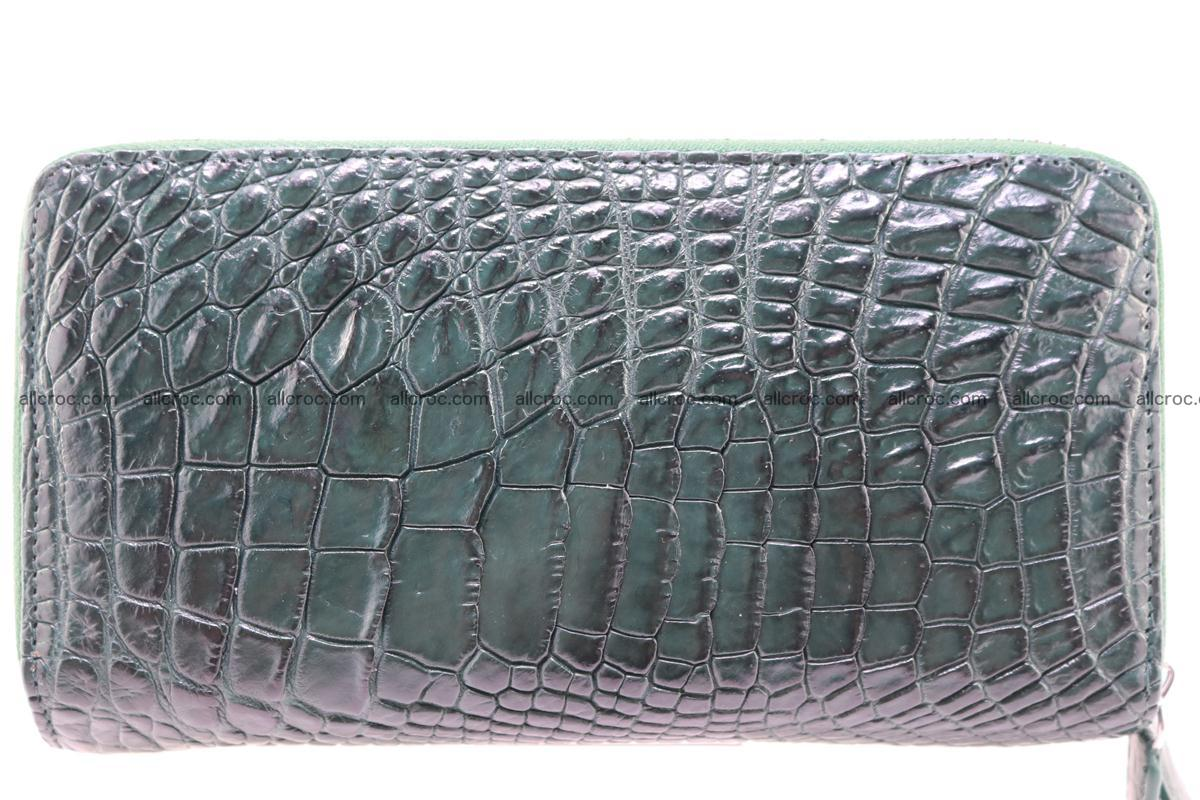 Crocodile wallet with 2 zips 315 Foto 4