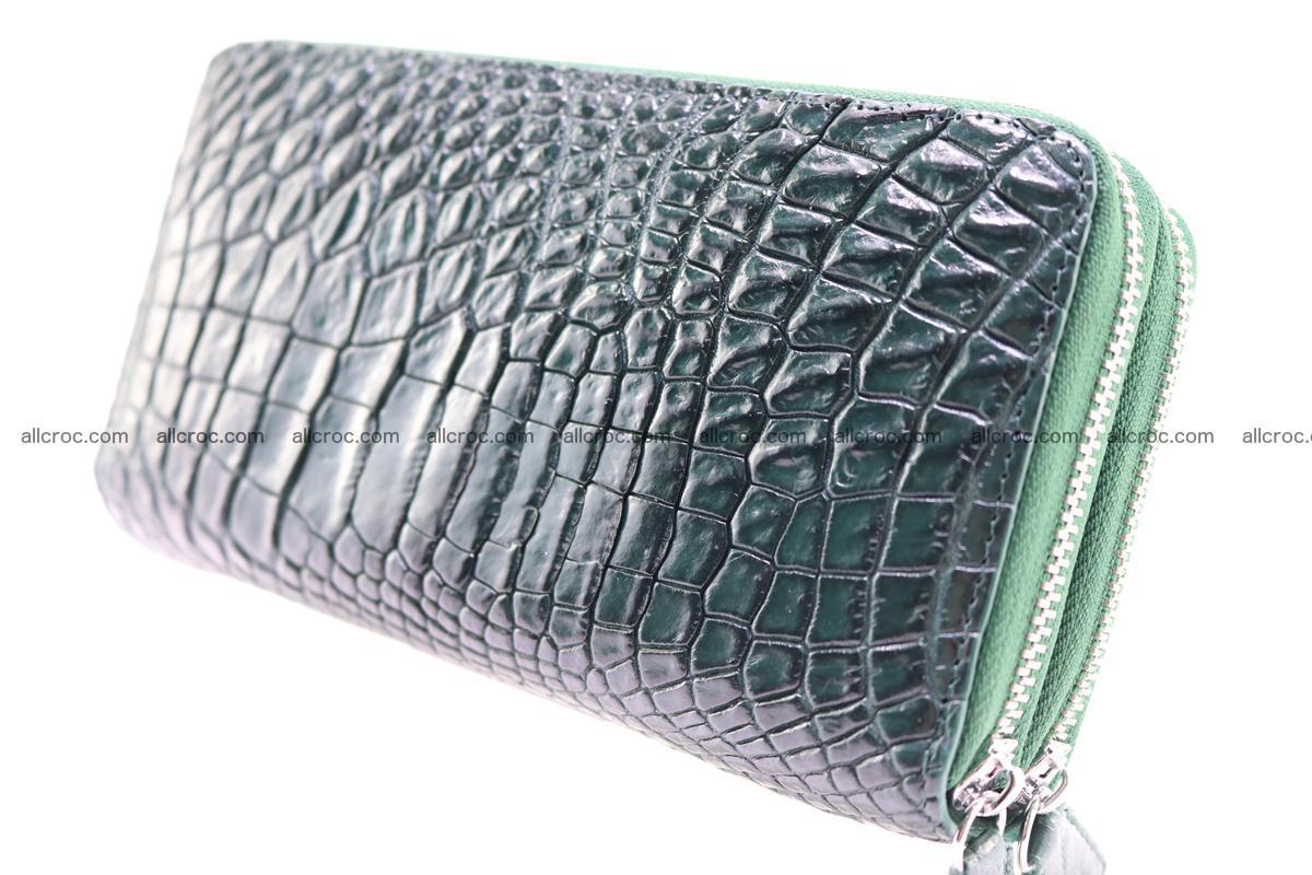 Crocodile wallet with 2 zips 315 Foto 6