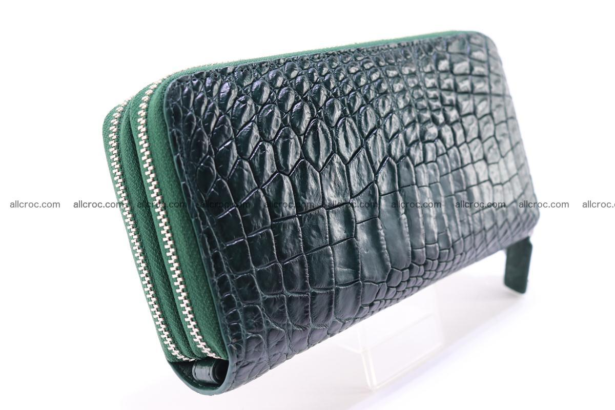 Crocodile wallet with 2 zips 315 Foto 5