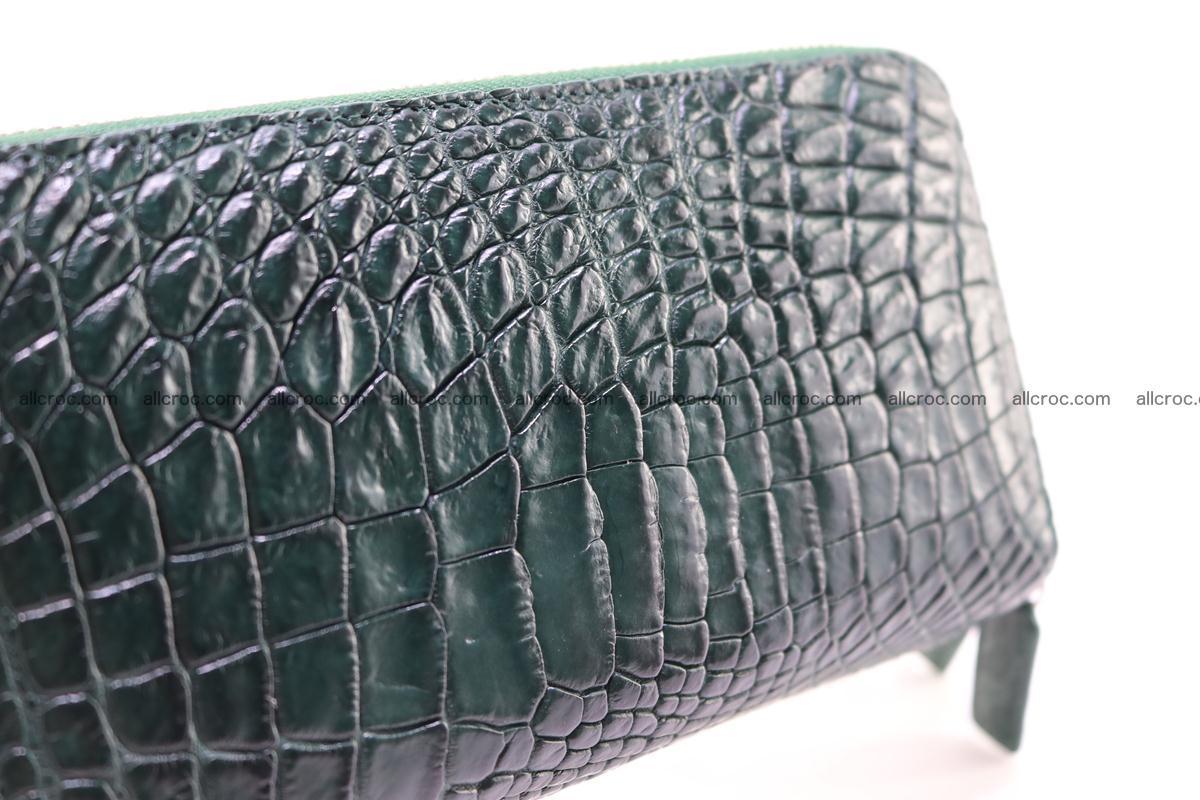 Crocodile wallet with 2 zips 315 Foto 8