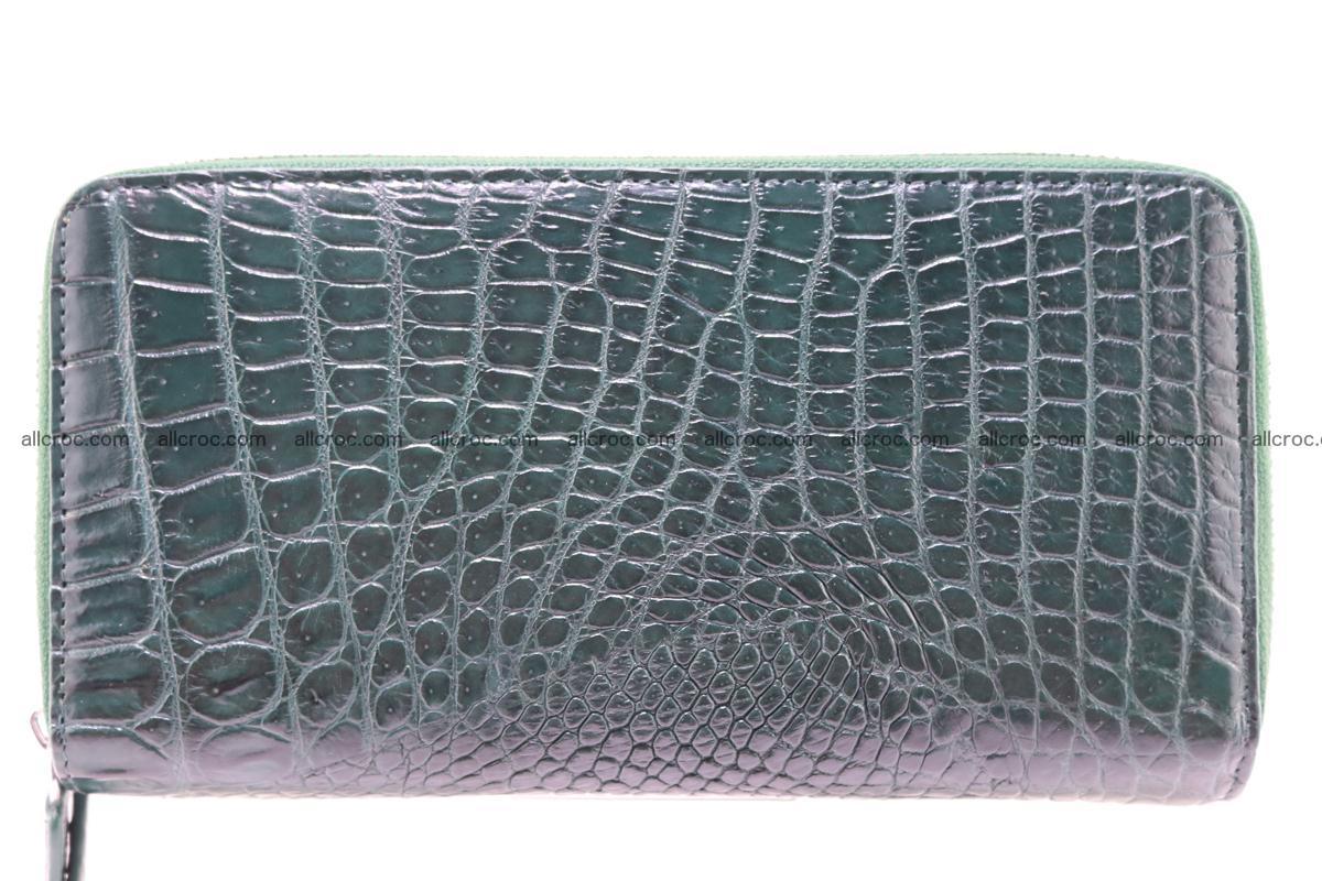 Crocodile wallet with 2 zips 315 Foto 1
