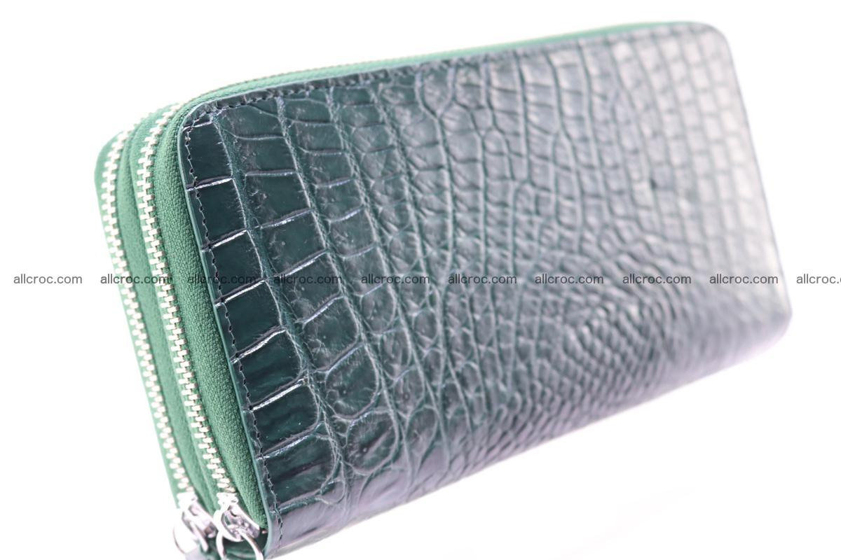 Crocodile wallet with 2 zips 315 Foto 9