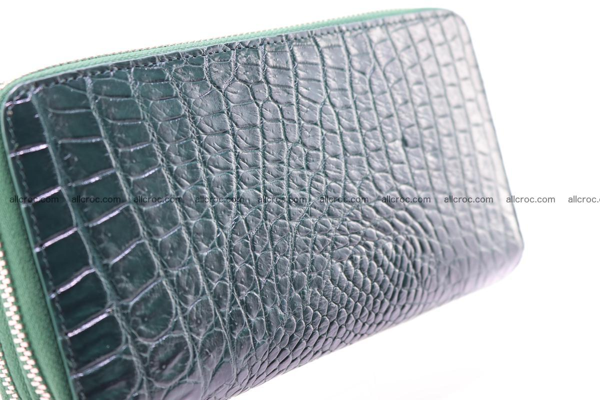 Crocodile wallet with 2 zips 315 Foto 10