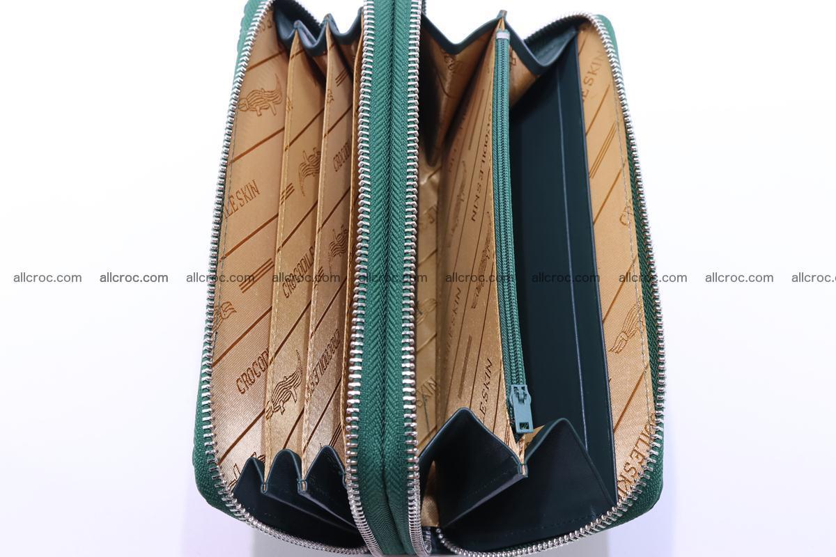 Crocodile wallet with 2 zips 315 Foto 16
