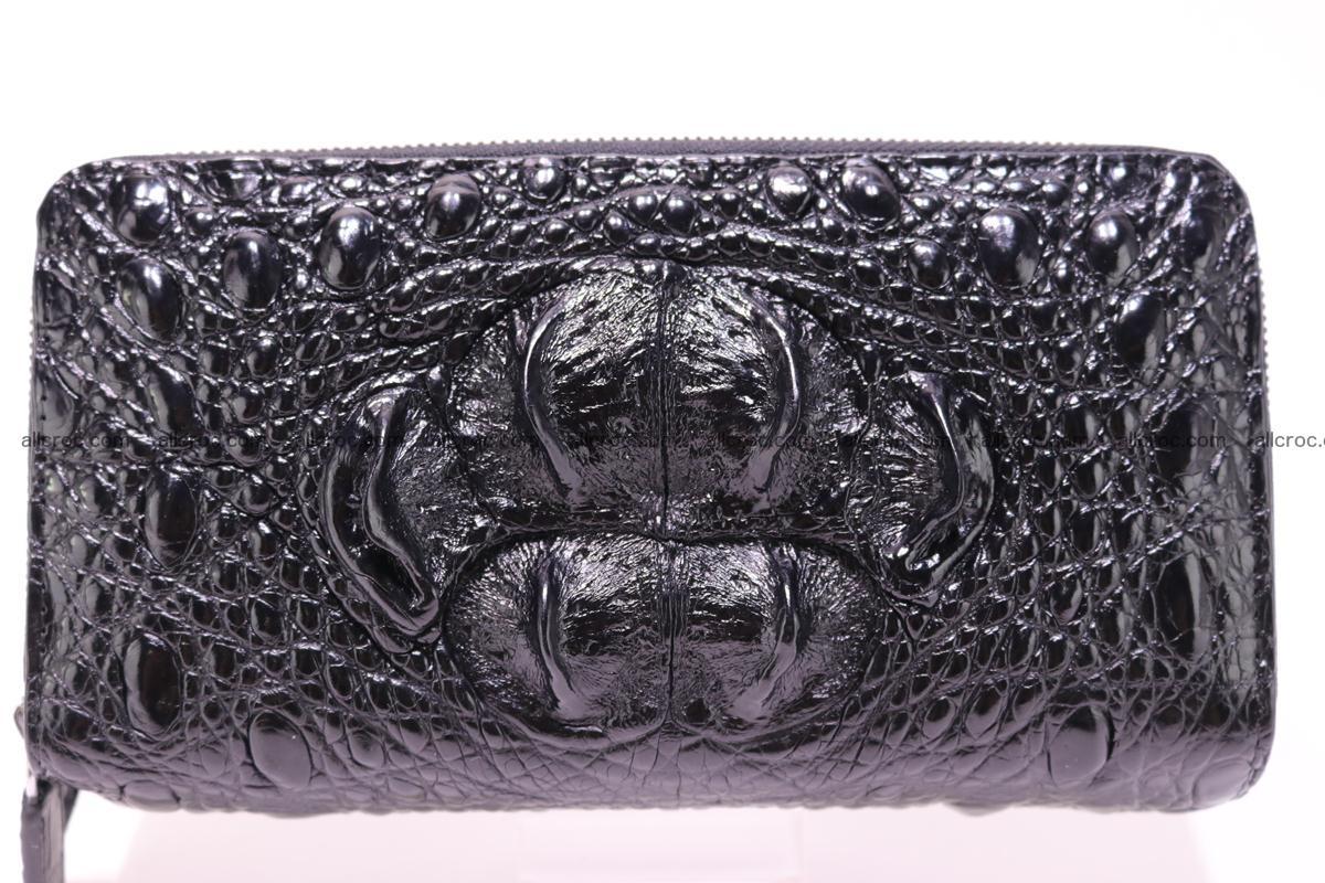 Crocodile wallet with 2 zips 316 Foto 0