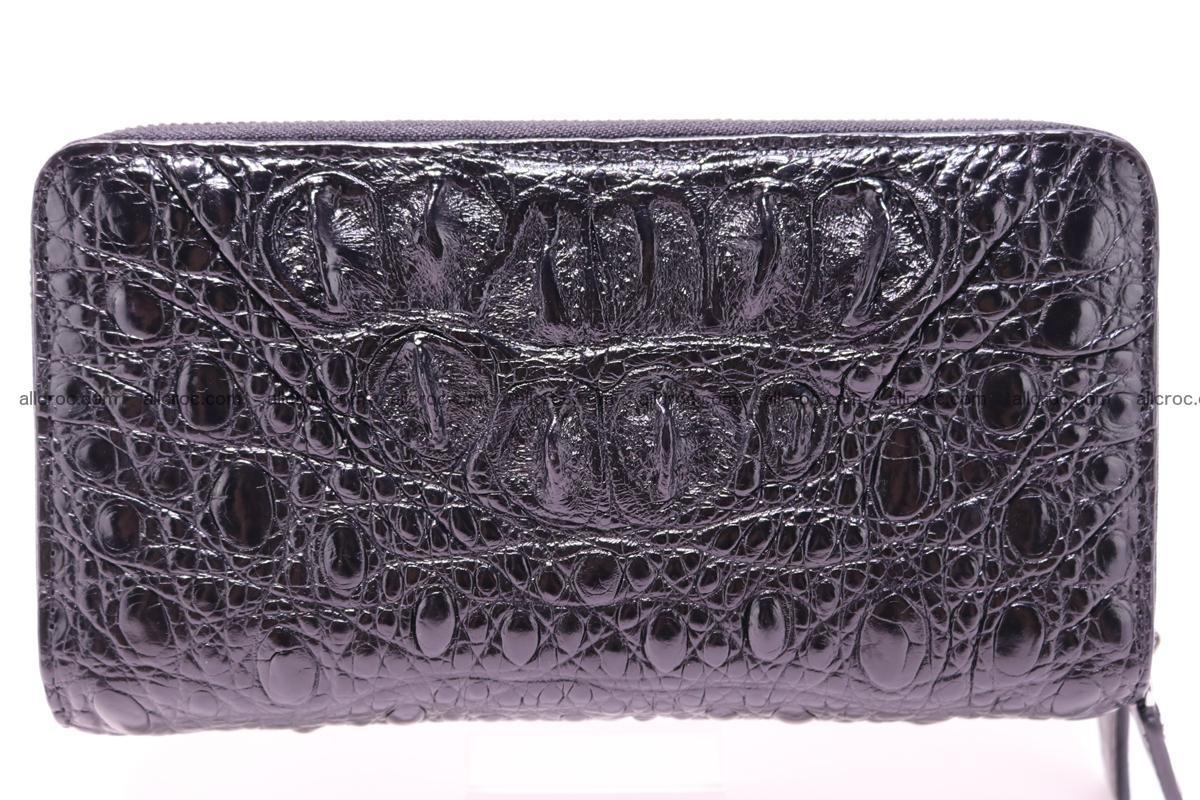 Crocodile wallet with 2 zips 316 Foto 1