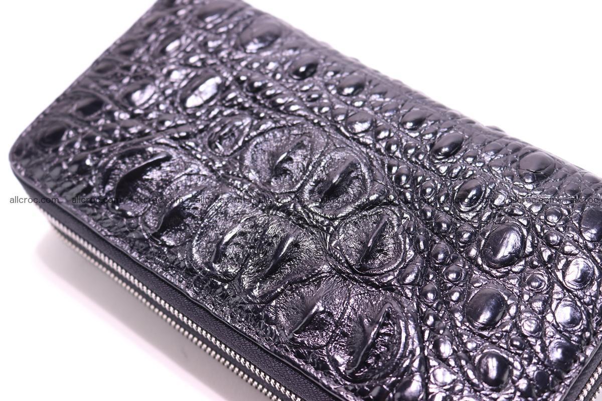 Crocodile wallet with 2 zips 316 Foto 8
