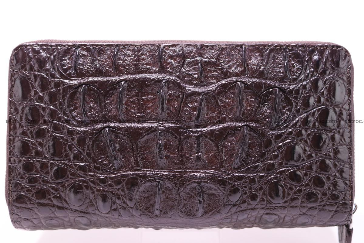 Crocodile wallet with 2 zips 317 Foto 1