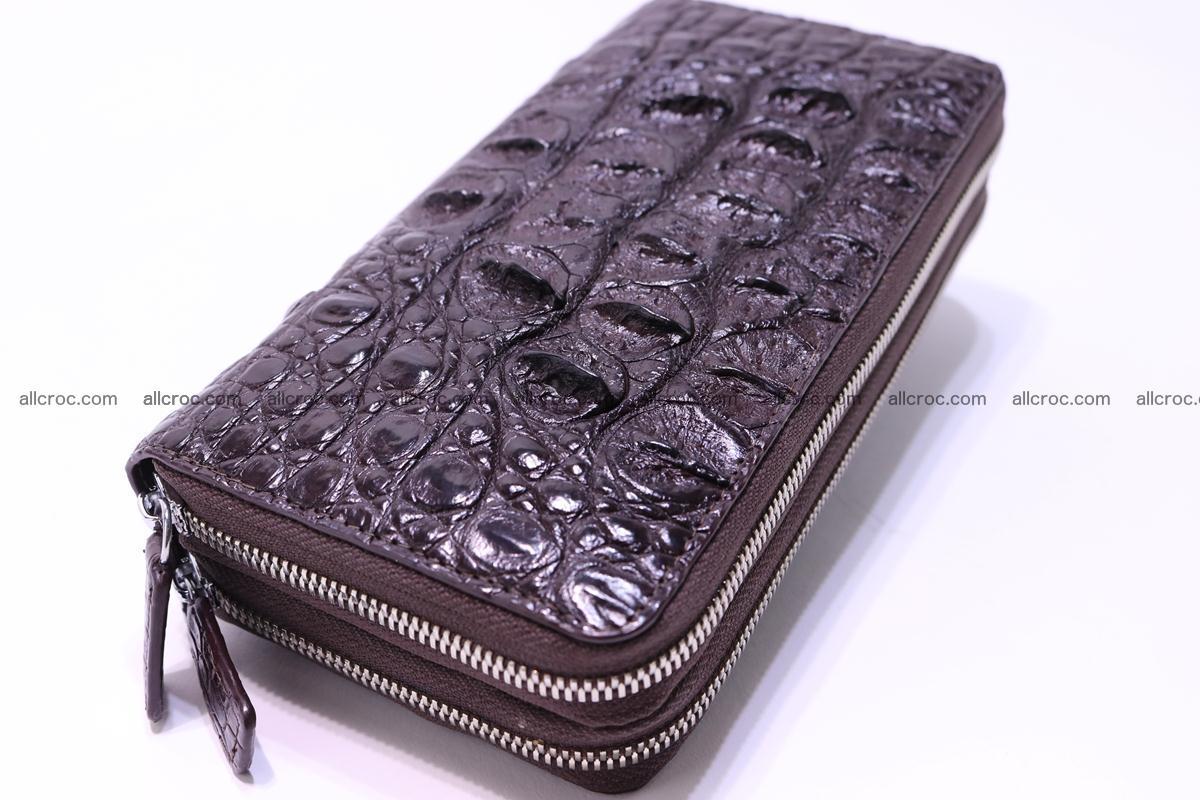 Crocodile wallet with 2 zips 317 Foto 5