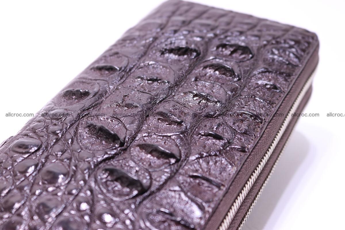 Crocodile wallet with 2 zips 317 Foto 6