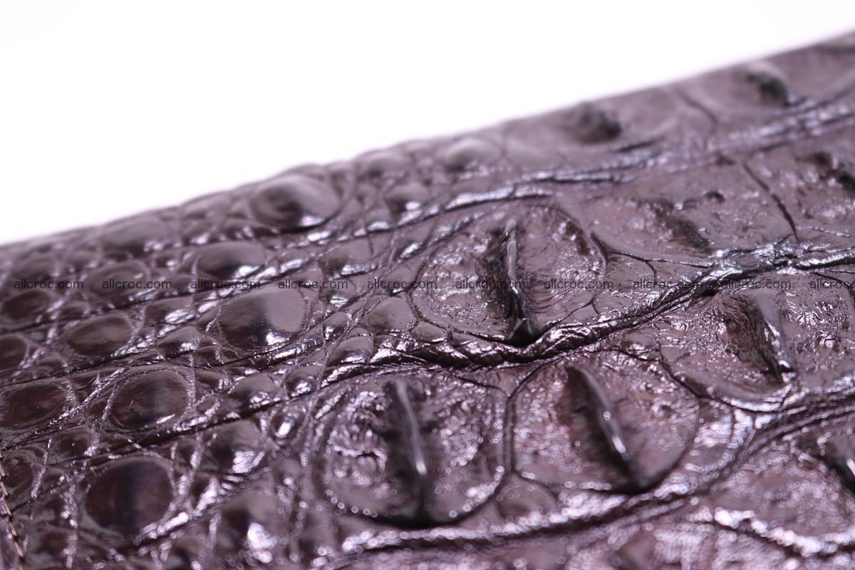 Crocodile wallet with 2 zips 317 Foto 7