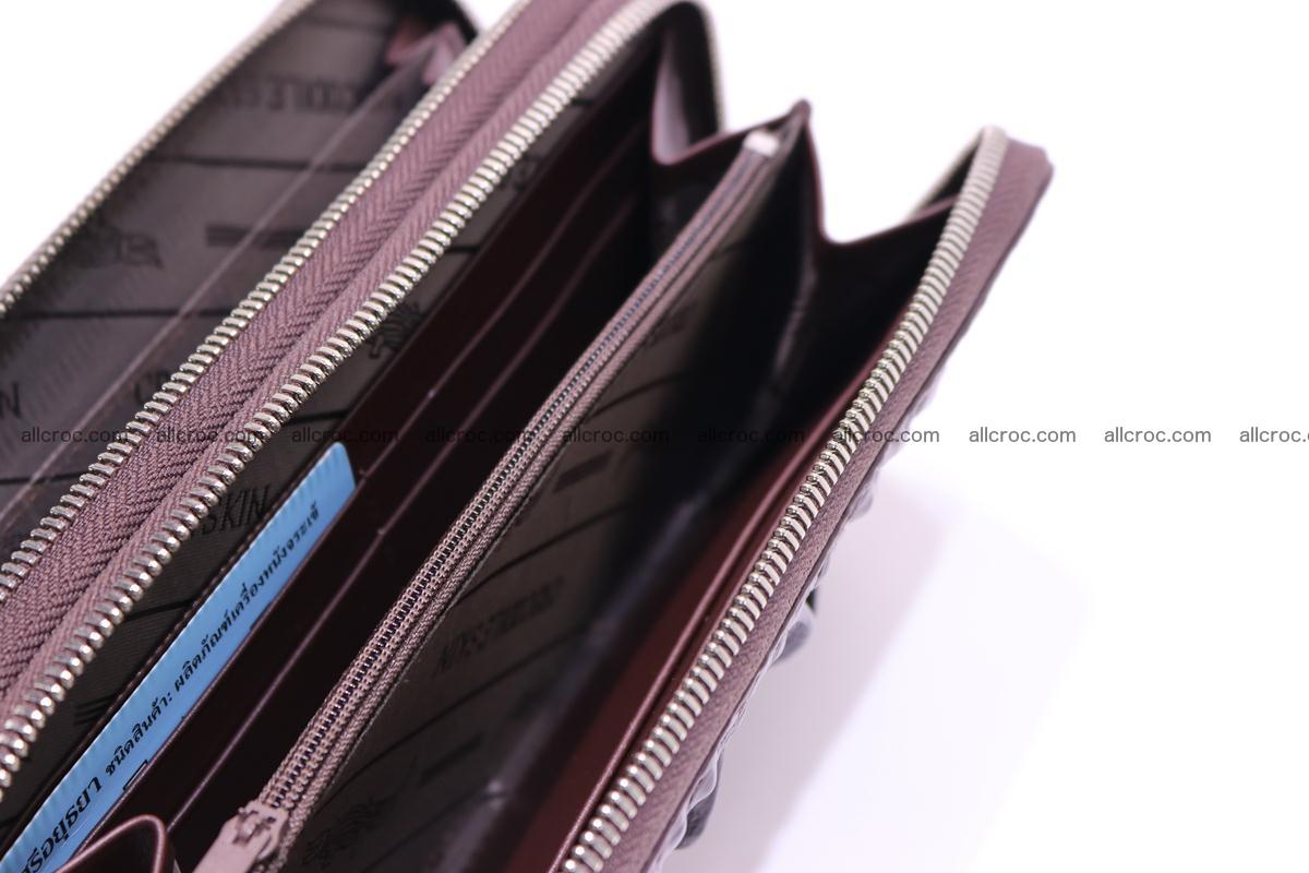 Crocodile wallet with 2 zips 317 Foto 10