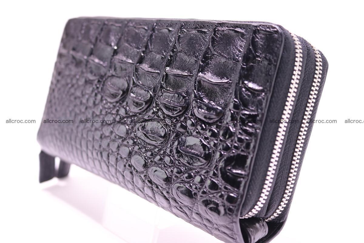 Crocodile wallet with 2 zips 304 Foto 1