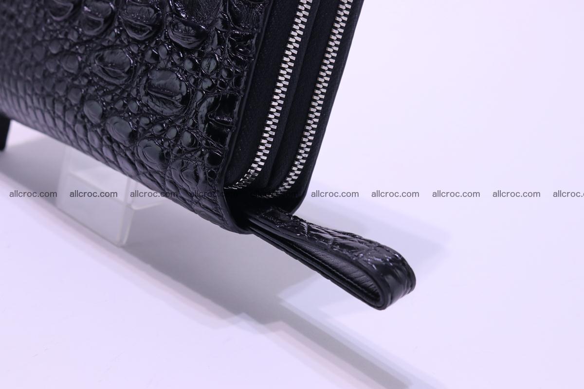 Crocodile wallet with 2 zips 304 Foto 11