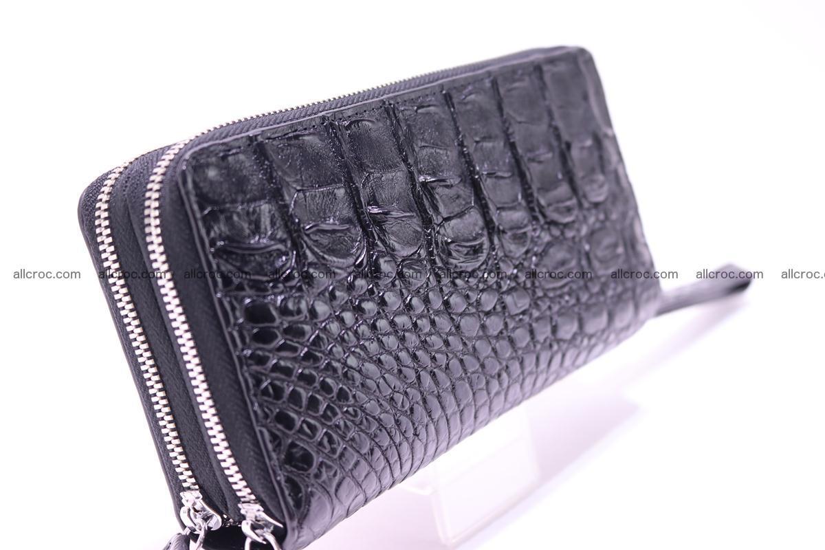 Crocodile wallet with 2 zips 304 Foto 2