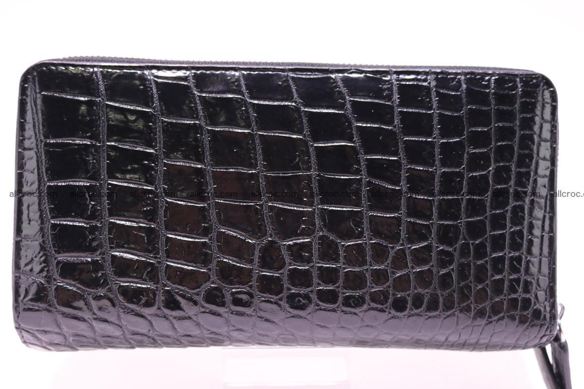 Crocodile wallet with 2 zips 304 Foto 3
