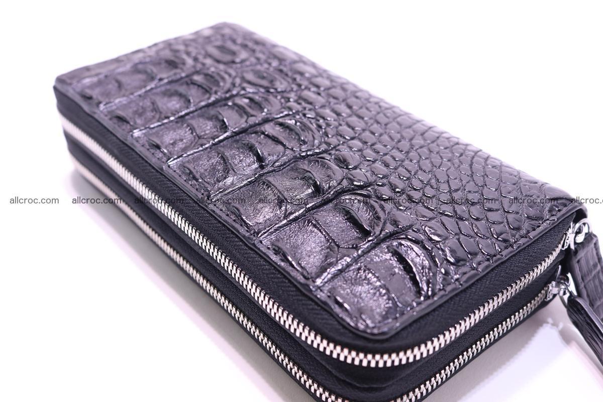 Crocodile wallet with 2 zips 304 Foto 10