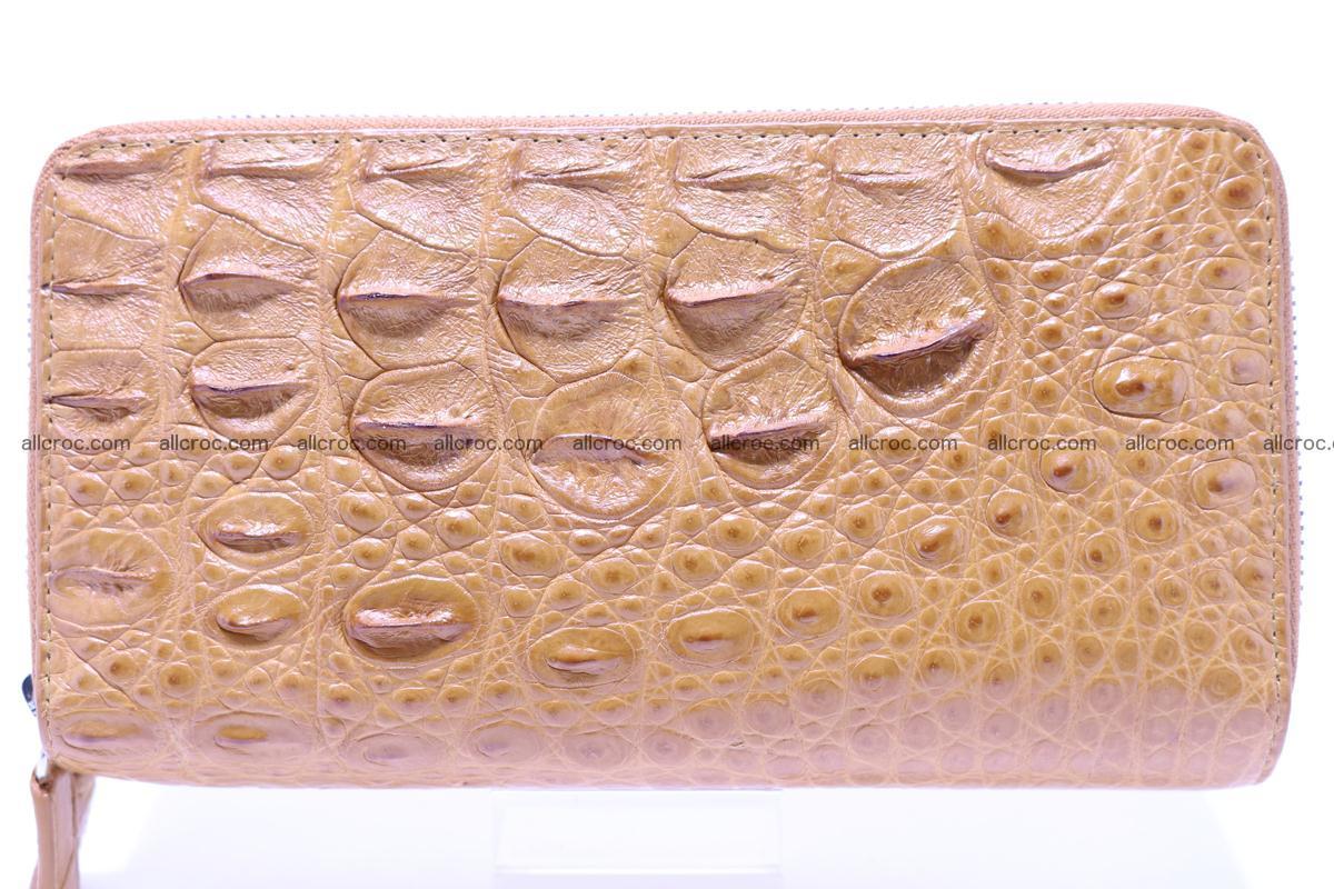 Crocodile wallet with 2 zips 303 Foto 0