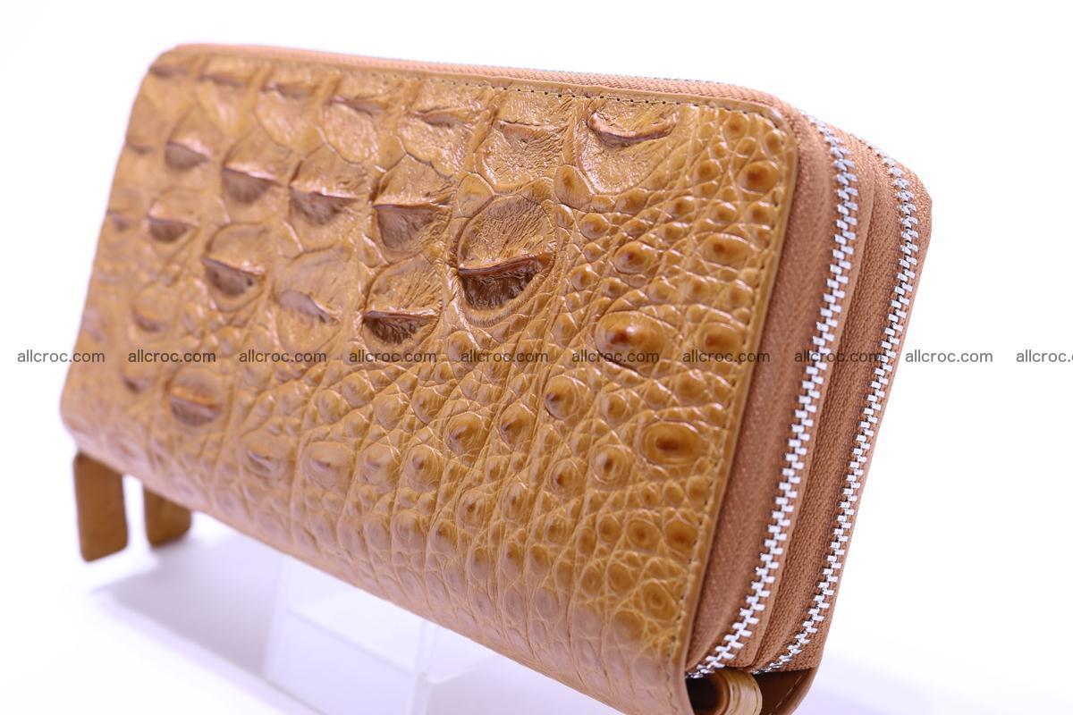Crocodile wallet with 2 zips 303 Foto 1