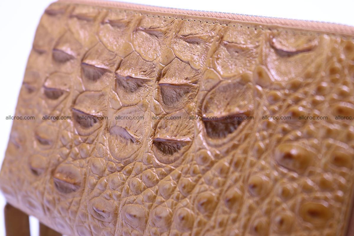 Crocodile wallet with 2 zips 303 Foto 3