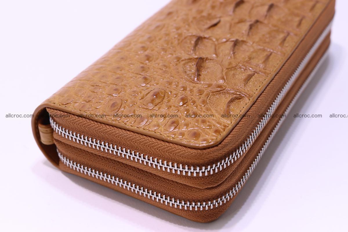 Crocodile wallet with 2 zips 303 Foto 14