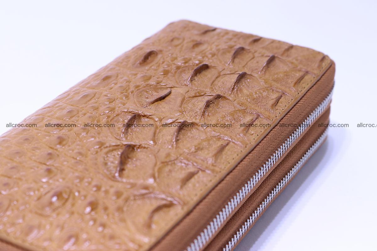 Crocodile wallet with 2 zips 303 Foto 12