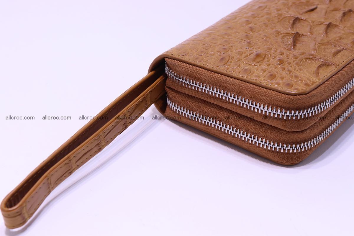 Crocodile wallet with 2 zips 303 Foto 10