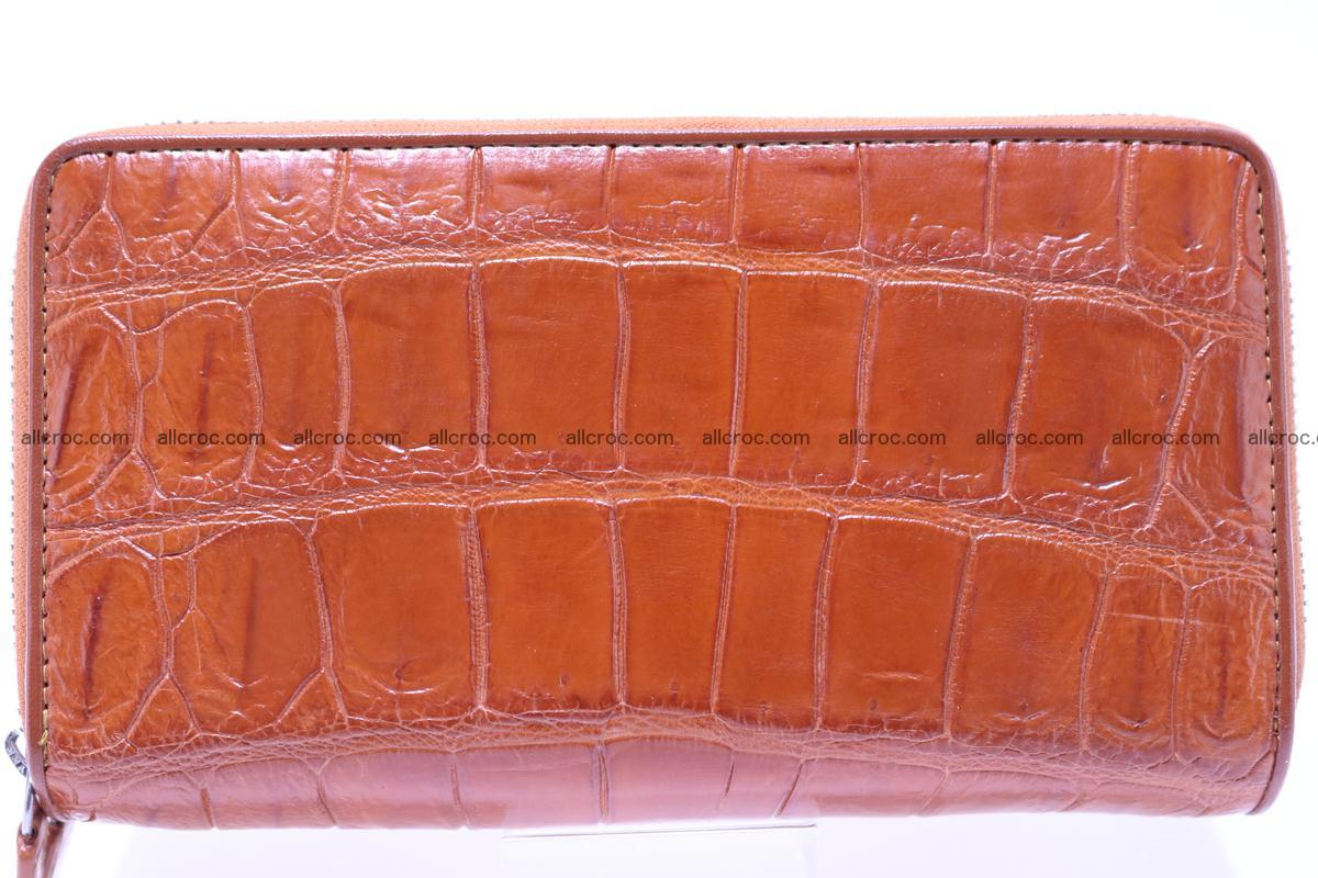 Crocodile wallet with 2 zips 305 Foto 0