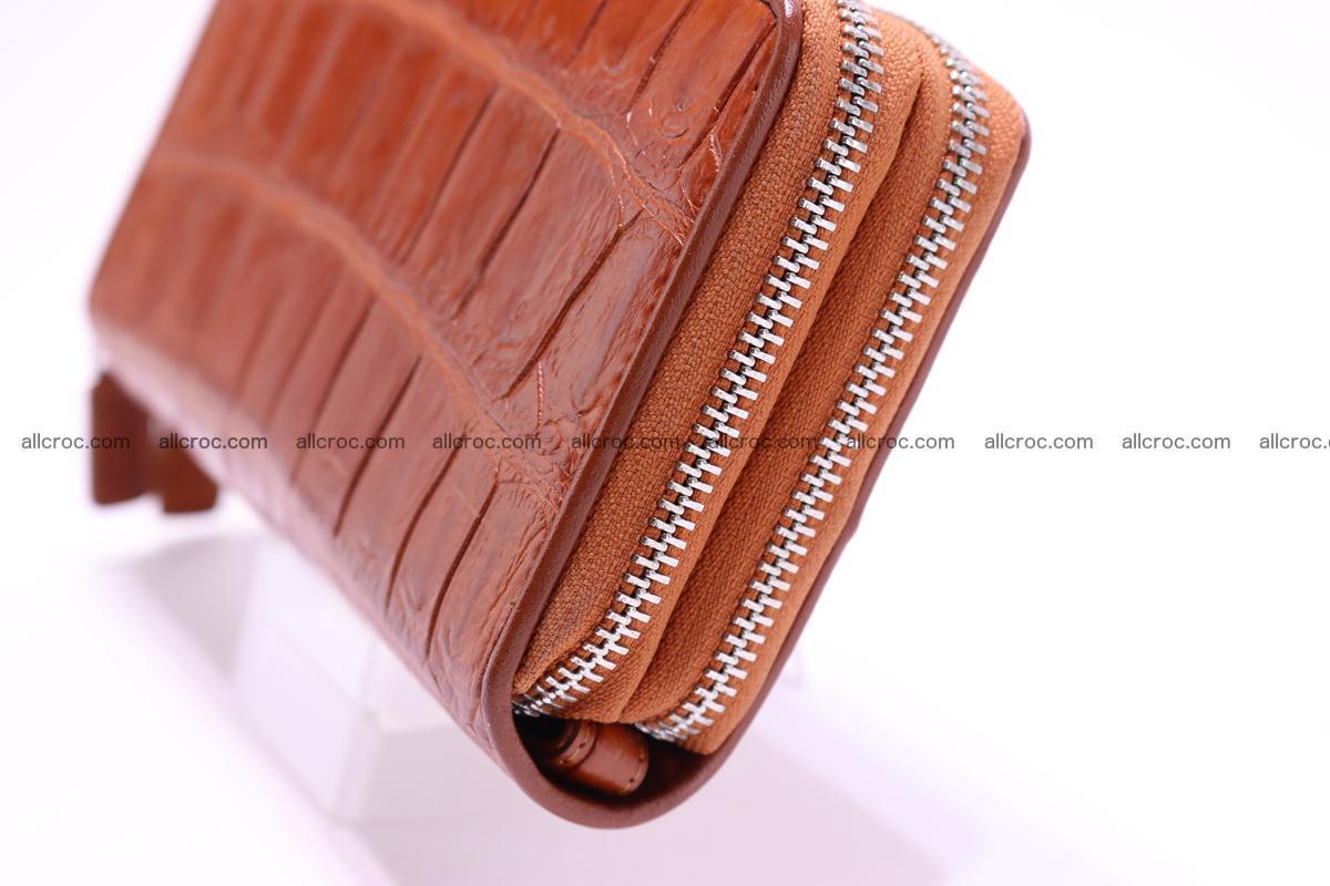Crocodile wallet with 2 zips 305 Foto 3