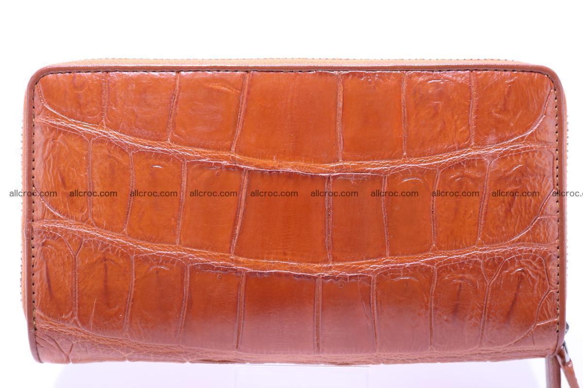 Crocodile wallet with 2 zips 305 Foto 1