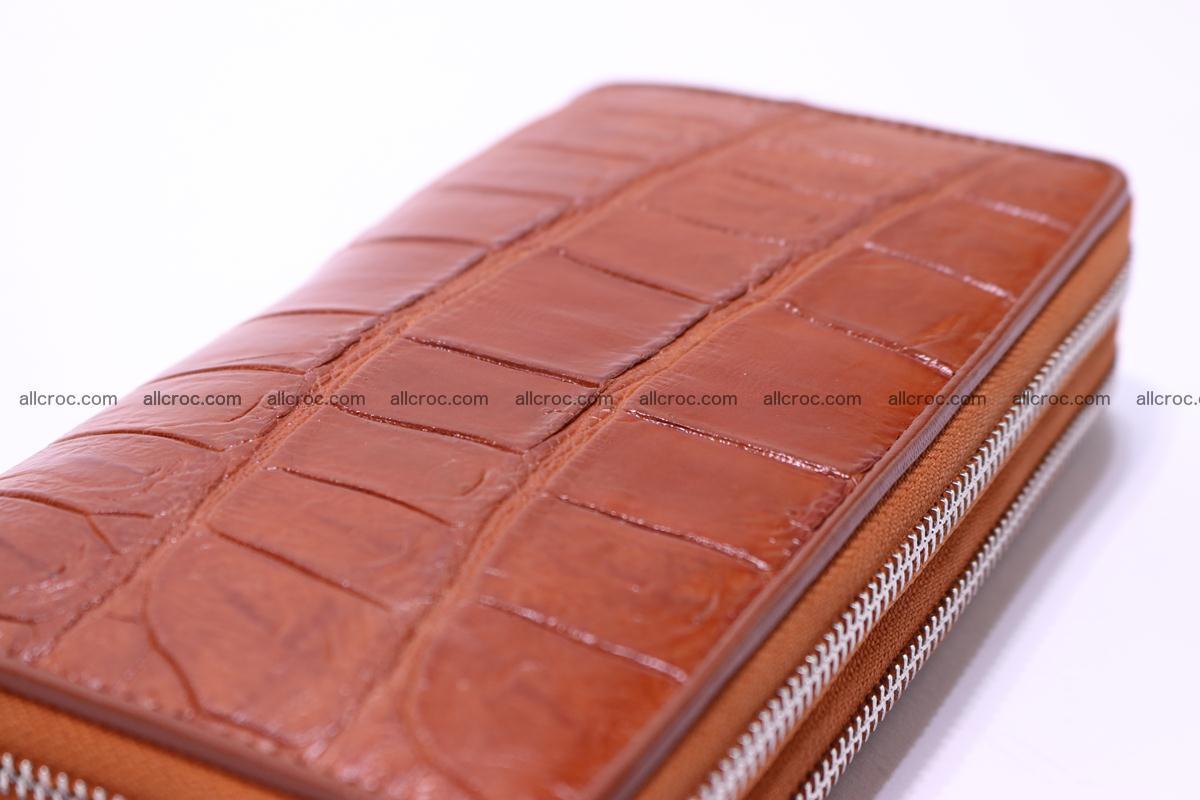 Crocodile wallet with 2 zips 305 Foto 13