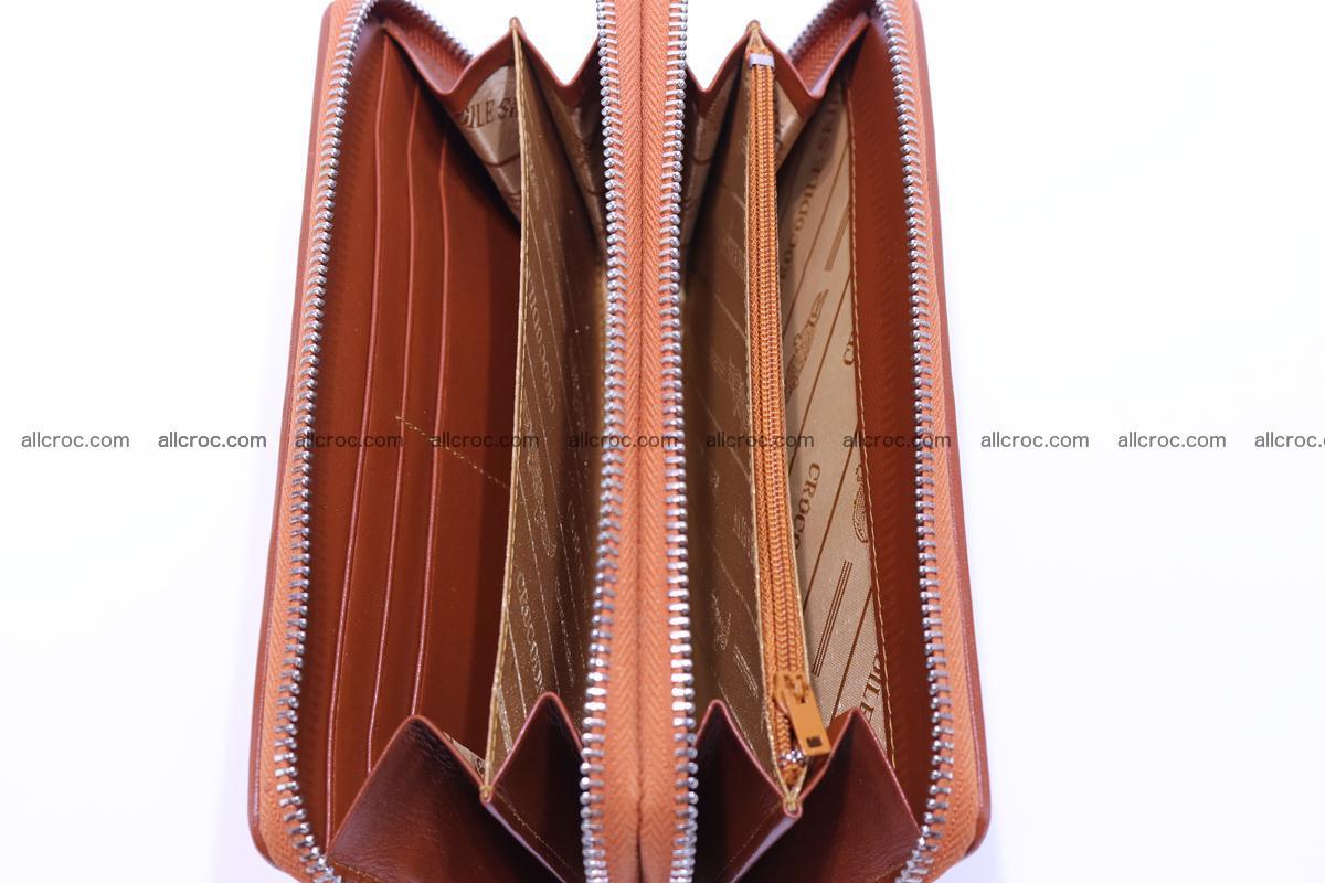 Crocodile wallet with 2 zips 305 Foto 11