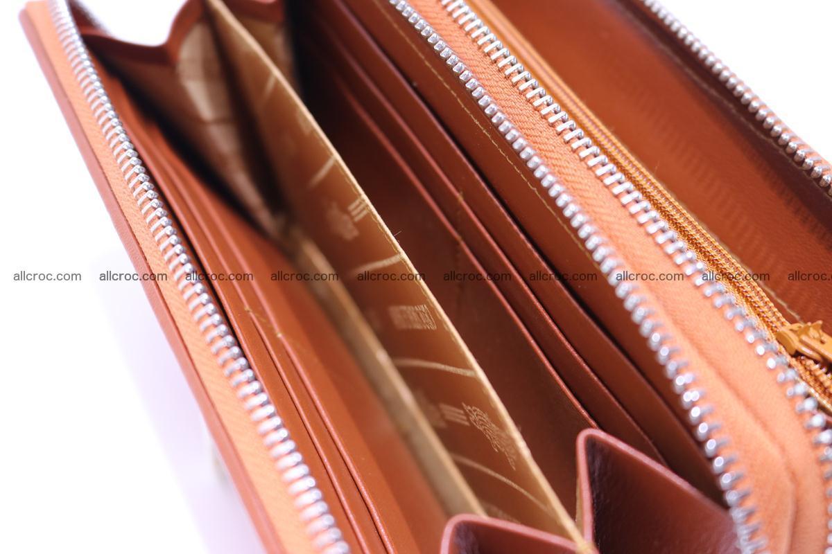 Crocodile wallet with 2 zips 305 Foto 12