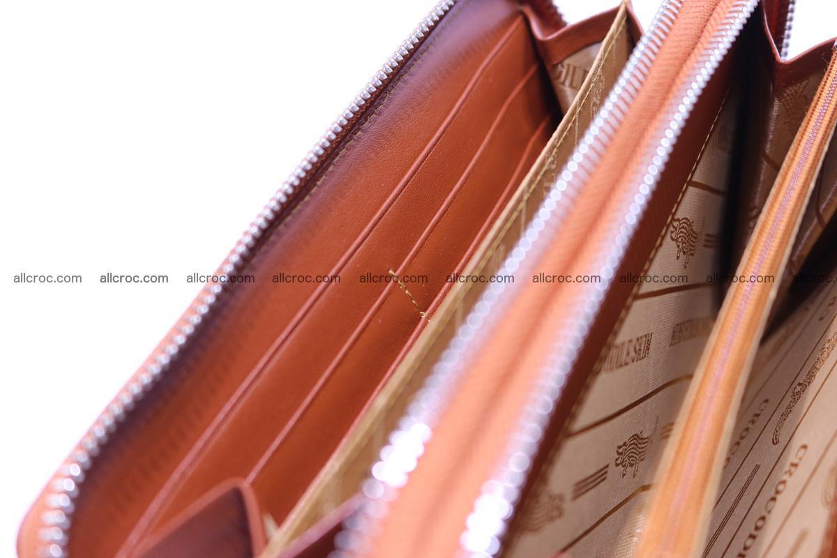 Crocodile wallet with 2 zips 305 Foto 15