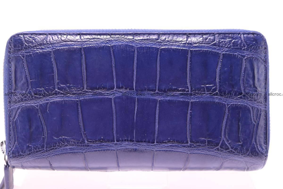 Crocodile wallet with 2 zips 306 Foto 0