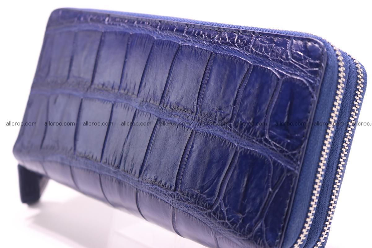 Crocodile wallet with 2 zips 306 Foto 2