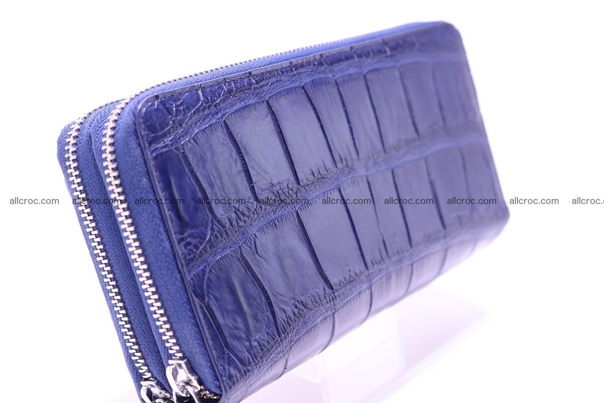 Crocodile wallet with 2 zips 306 Foto 3